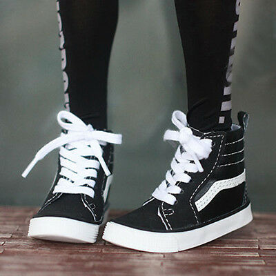 SD17 Sneakers Casual Shoes Black  Synthetic PU For 70cm Uncle BJD AOD AS DOLL