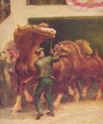 Horses and Americans Phil Strong 1939 Illustrated First Edition + Dust Jacket