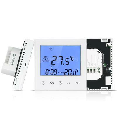 Electric Heating Thermostat with Touchscreen Smart WIFI Programmable R7T2