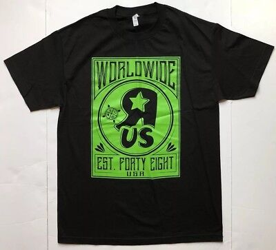 Black & Green Collectible Toys R Us World Wide T Shirt New Rare Size Large