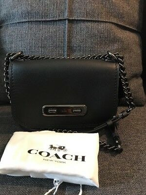 COACH SWAGGER SHOULDER Bag 20 Black -  159.99  7f5eb5068f8a2