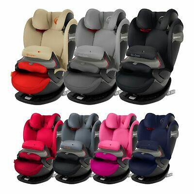 Cybex Pallas S-Fix Group 1 / 2 / 3 R44/04 ISOFIX & Belted Baby / Child Car Seat