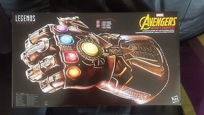 Marvel Hasbro Electronic - Infinity Gauntlet Thanos - Mint Sealed In Hand - L@@k