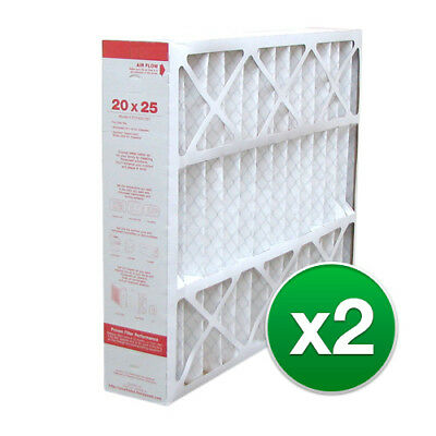 Replacement For Lennox X0586 / X1152 20x25x5 Furnace Air Filter MERV 11 (2 Pack)