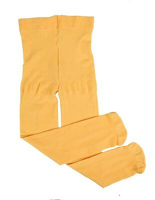 Leveret Girls Tights Yellow Size 2-4 Toddler