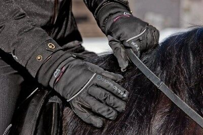 (X-Large, Black) - Mountain Horse Performance Glove. Shipping Included