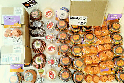 Wilton Halloween Cupcake Baking Cups 60+ Retail Ready Packs Free Shipping New!