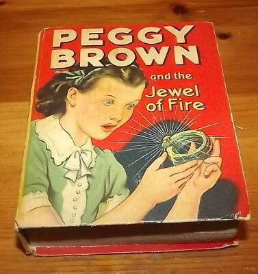 The Better Little Book 1943 Peggy Brown and the Jewel of Fire