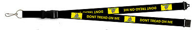 Don't Tread on Me Lanyard Gadsden Keyring Dont Tread on Me Keychain USA Seller