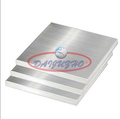 1Pcs New 304 Stainless Steel Fine Polished Plate Sheet 3mm x 100mm x 100mm