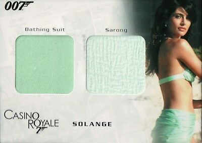 James Bond In Motion, Solange Dual Relic Card DC06