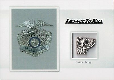 James Bond Archives Spectre Edition, Police Badge Relic Card MR5