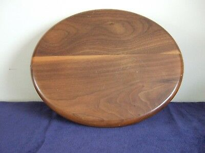 Vintage SOLID WOOD display base. Perfect for single, special items.