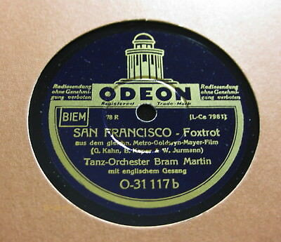 Bram Martin - San Francisco / Eugen Wolff - Would You ? ODEON O-31 117 (381)