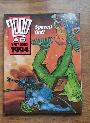 2000AD YEARBOOK 1994 - UK FLEETWAY ANNUAL BOOK good condition.