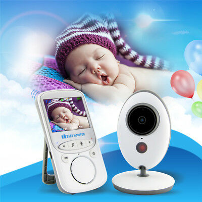 2.4'' Wireless Digital Baby Monitor Secure 2.4GH Video Home Camera Night Vision
