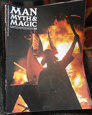 Man, myth and magic supernatural encyclopedia magazines