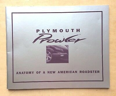 Plymouth Prowler Anatomy Of A New American Roadster Automobile Quarterly