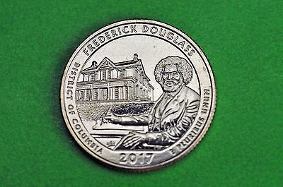2017-D   BU  Mint State  ( Frederick Douglass) US National Park Quarter