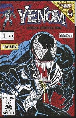 Venom First Host #1 Shattered Variant Lethal Protector Spider-Man Nm In Stock!!