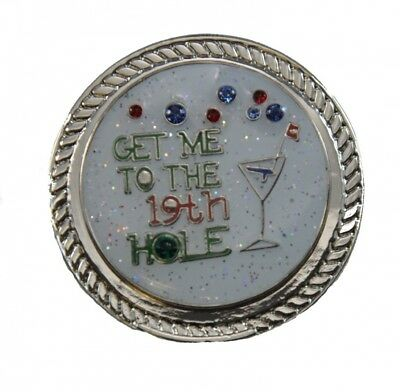 Navika KICKS CANDY 19th Hole Glitzy with. Crystal Ball Marker and Round Shoe
