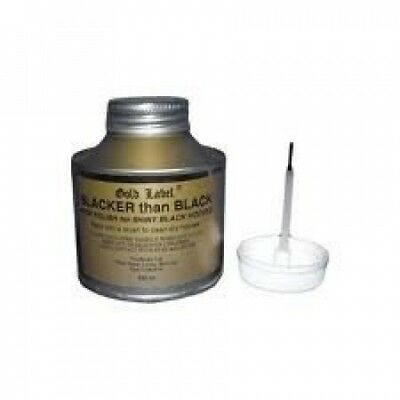Gold Label Blacker than Black, 250ml - Rapid drying hoof varnish. Best Price