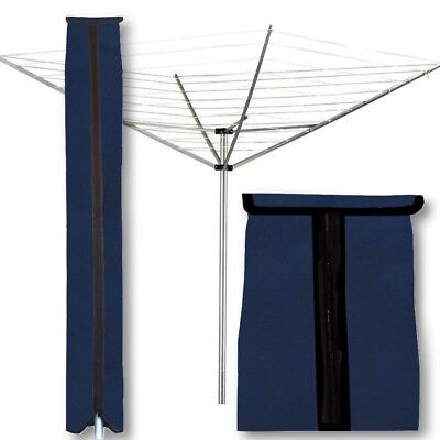 (Large (21x66L), Bright Navy) - Protective Cover for Folding Rotary, Umbrella