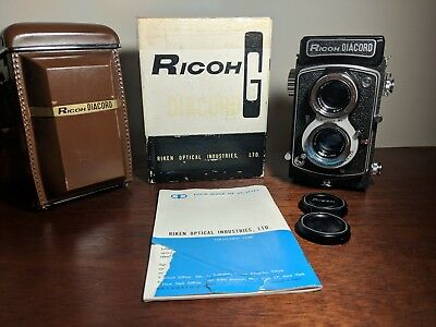 Ricoh Diacord G Riken Japan medium format TLR camera CLA Citizen Rikenon.