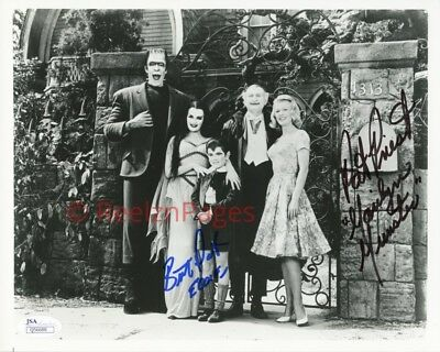 New Art Print of Autographed Celebrity Photo 8 1/2 X 11 The Munsters 1960s