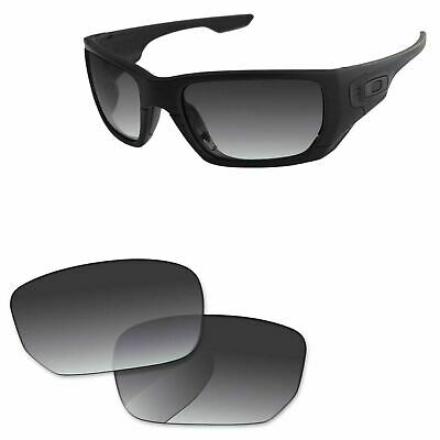 f21f97537fa Papaviva Grey Gradient Polarized Replacement Lenses For-Oakley Style Switch