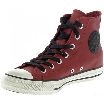 Converse All Star PREMIUM Leather Alte Chuck Taylor Scarpe Sneakers 162803C red