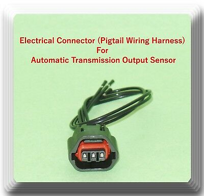 OUTPUT AUTO TRANSMISSION Speed Sensor W/ Connector 42621