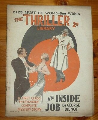 THE THRILLER No 424 Vol 16 20TH MAR 1937 THE SAINT IN NEW YORK- LESLIE CHARTERIS