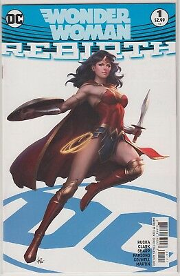DC - Wonder Woman Rebirth Special #1 Variant Cover by Stanley Lau - 1st printing
