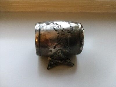 Antique Toronto Silver Plate Co Figurative Napkin Ring