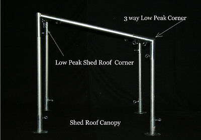 4 - SHED Roof Canopy Fittings
