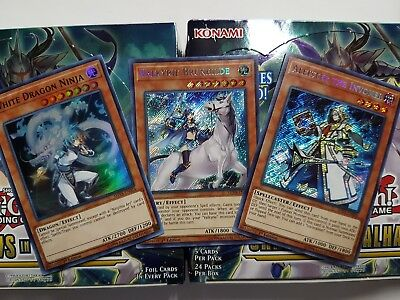 Yu-Gi-Oh Shadows in Valhalla Secret & Super Rare - YOU PICK FROM LIST