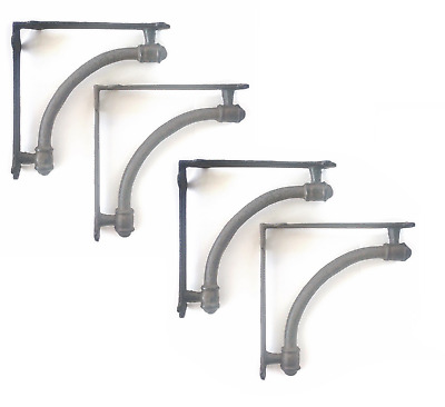 Farmhouse Shelf Bracket(s) SET of 4 Corbel(s) Shelving New Antique Rustic 9.5""