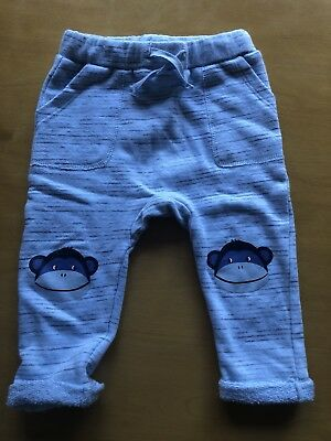 seed baby boy Blue Track Pants 6-12mths