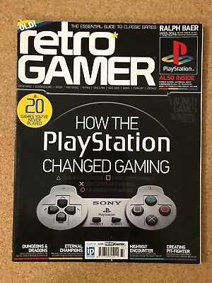 Retro Gamer Issue 137 - How The Playstation Changed Gaming - VGC - FREE UK POST