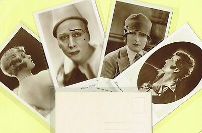 ROSS VERLAG - 1920s Film Star Postcards produced in Germany #1602 to #1666