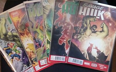 Collection of 21 Hulk comics (5 complete limited-series and 3 annuals)