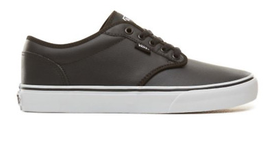 Vans Atwood Leather Black White  VN000TUYU0M1 Mens Trainers