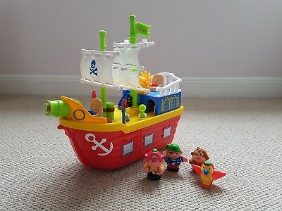 KIDDIELAND PIRATE SHIP Boat with figures music lights and sounds
