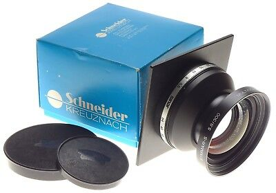 Symmar-S 5.6/300 MC Schneider f=300mm Sinar lens board boxed large format caps