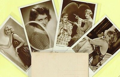 ROSS VERLAG - 1920s Film Star Postcards produced in Germany #3566 to #3616