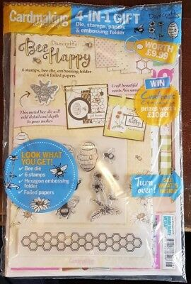 Cardmaking & Papercraft magazine #185 August 2018 +Free Dies Stamps Papers