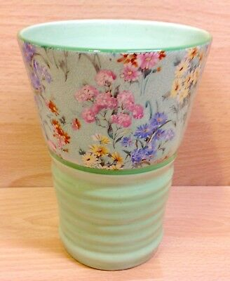 "Shelley Shape 1047 ""Melody"" Chintz Pattern Vase."