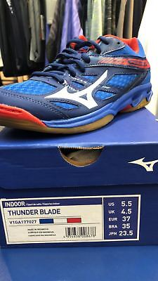 Mizuno 2018 FW Unisex THUNDER BLADE Indoor Volleyball Sneaker Shoes V1GA177044
