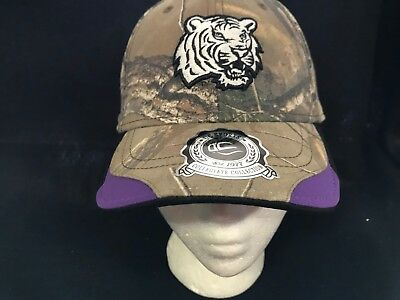 new product 7bcdc 4c47b ... buy nwt brand new lsu tigers oc sports ncaa hideout camo cap hat  adjustable 6d665 2d2c7